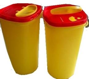 Kanülenabwurfbehälter 2,5 Liter