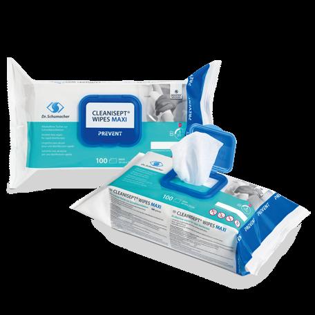 Cleanisept Wipes Maxi Desinfektionstücher für Ultraschallköpfe