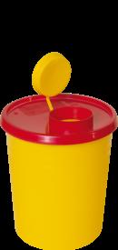 Kanülenabwurfbehälter Quick 1,5 Liter