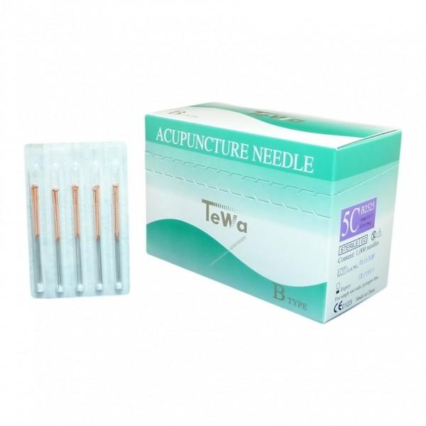 TEWA Akupunkturnadeln beschichtet 0,30 x 30mm Speedpak 5CB 3030